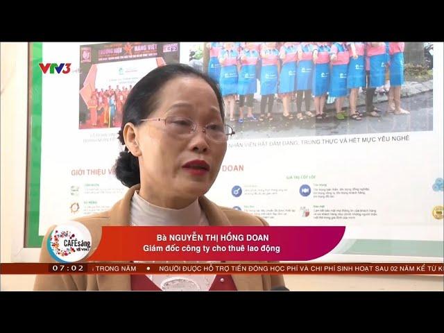 Khó Khăn Tìm Việc Ngày Tết - Cà Phê Sáng VTV3 tại Giúp Việc Hồng Doan