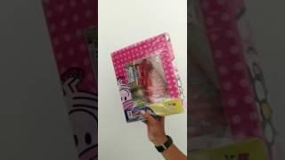 Sprei Lady Rose Hello Kitty King Tipe 180x200 cm