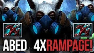 ⚡️ Abed EPIC MEEPO RAMPAGE Gameplay ¦ 33 KILLS INSANE DOTA 2 ⚡️