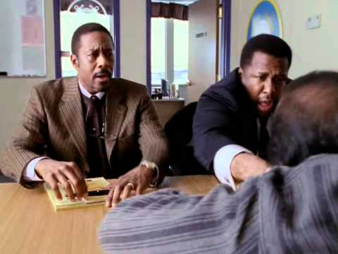 """Lester and Bunk Interrogating crew from the ship in """"The Wire"""""""