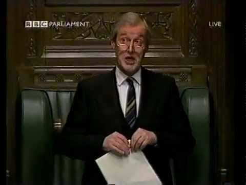 Sir Alan Haselhurst roars - original - house of commons classic