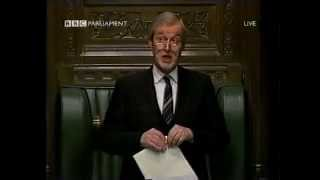 Sir Alan Haselhurst roars - original - house of commons classic
