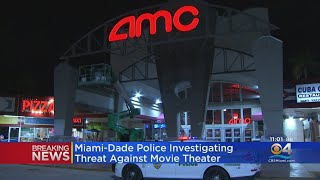 Threats Against Local Movie Theater Investigated