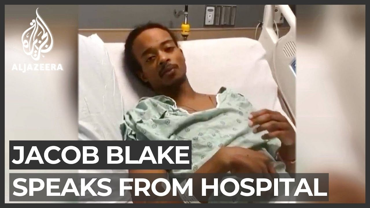 Jacob Blake Goes Live From His Hospital Bed After Shot 7 X by Police [VIDEO]