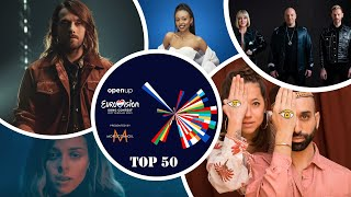 Eurovision 2021   National Final Season - My Top 50 (🇦🇱🇦🇺🇦🇿🇧🇬🇪🇪🇫🇮🇫🇷🇮🇱🇱🇹🇳🇴)