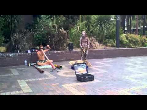 Aborigines musik,Australia,Sydney,05.01.2012