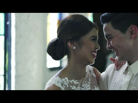 ALDUB MAICHARD WEDDING MV - Beautiful In White