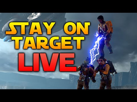 Star Wars Battlefront LIVE - Got to practice more for the Death Star!