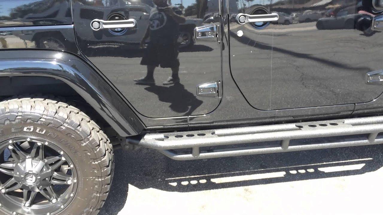Jeep jk wrangler 4 door xrc atlas front bumper and db link led light jeep jk wrangler 4 door xrc atlas front bumper and db link led light bar youtube mozeypictures Images
