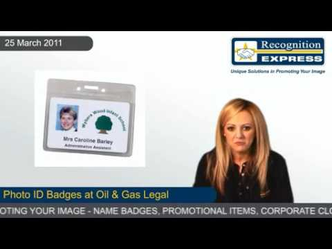 Photo ID Badges at Oil & Gas Legal