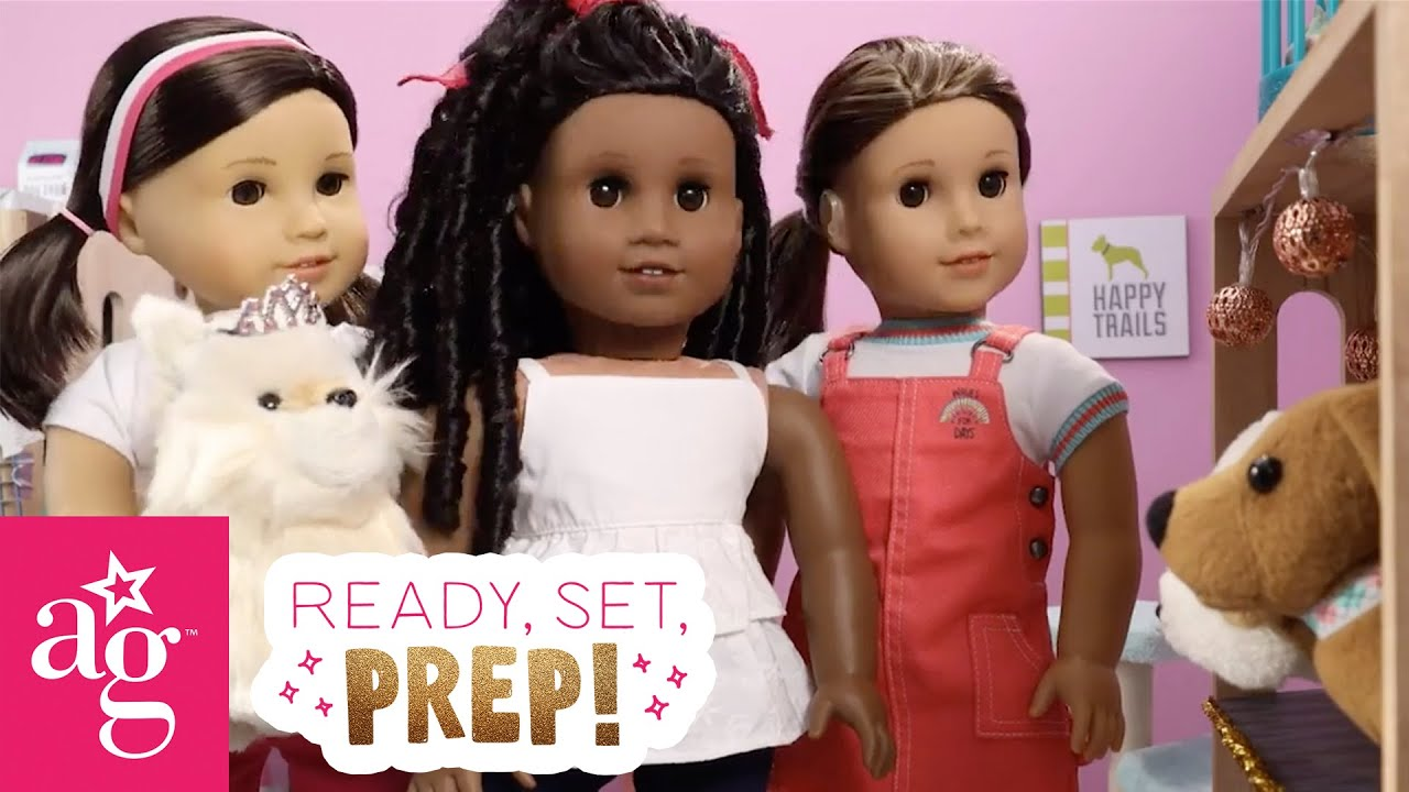 Joss & Friends Volunteer at the Animal Shelter | Ready, Set, Prep! Stop Motion | @American Girl
