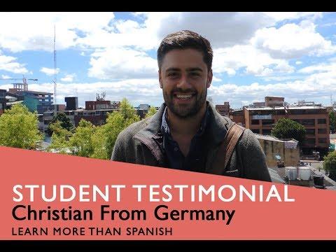 General Spanish Course Student Testimonial by Christian from Germany