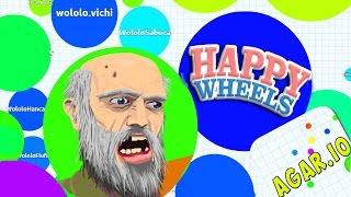 HAPPY WHEELS - AGAR.IO LEVELS! CRAZY GOOD HAPPY WHEELS CUSTOM MOD CONTENT!