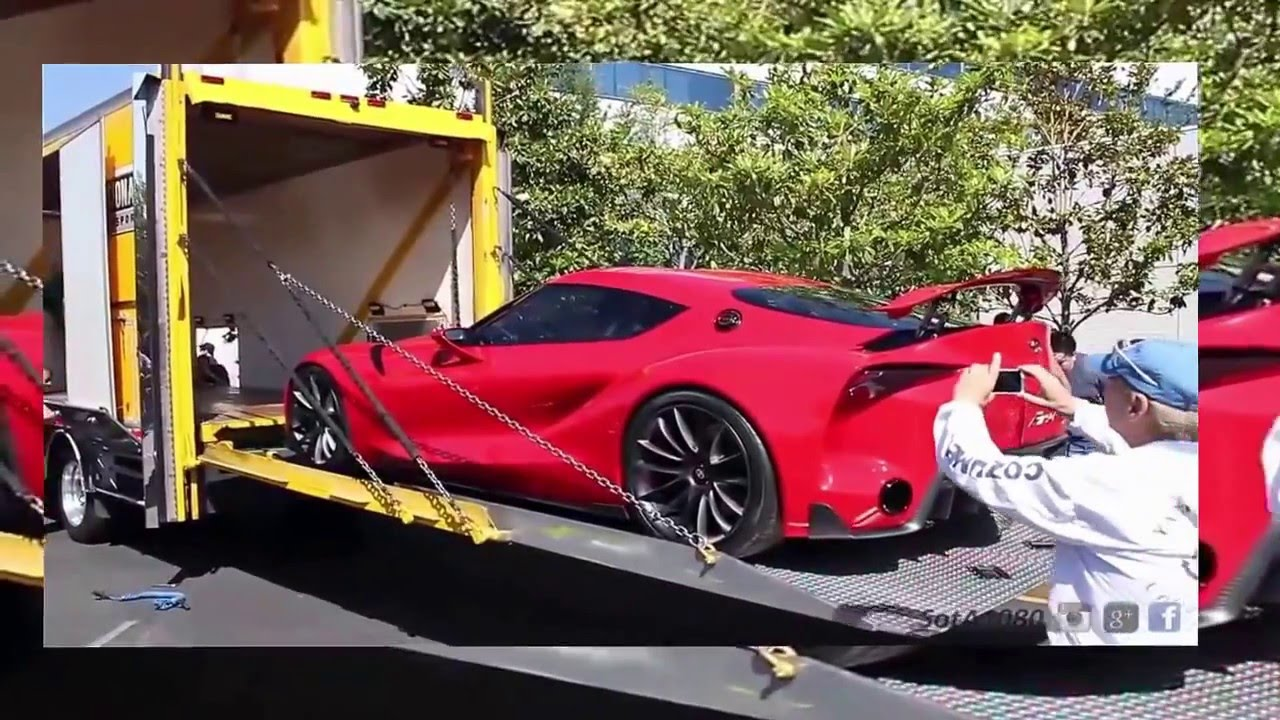 toyota FT-1, supercar 2016, the interior exterior to - YouTube