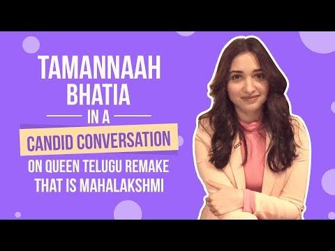 Tamannaah Bhatia spills the beans on Kangana Ranaut's Queen's Telugu remake | That is Mahalakshmi