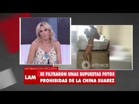 Se filtraron fotos de la China Suárez desnuda thumbnail