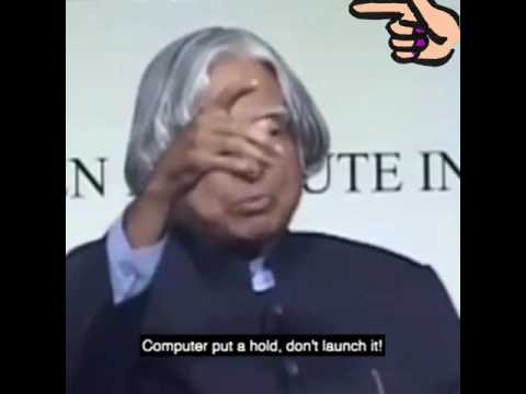 Dr.A.P.J. Abdul Kalam Most Inspirational Speech Must watch