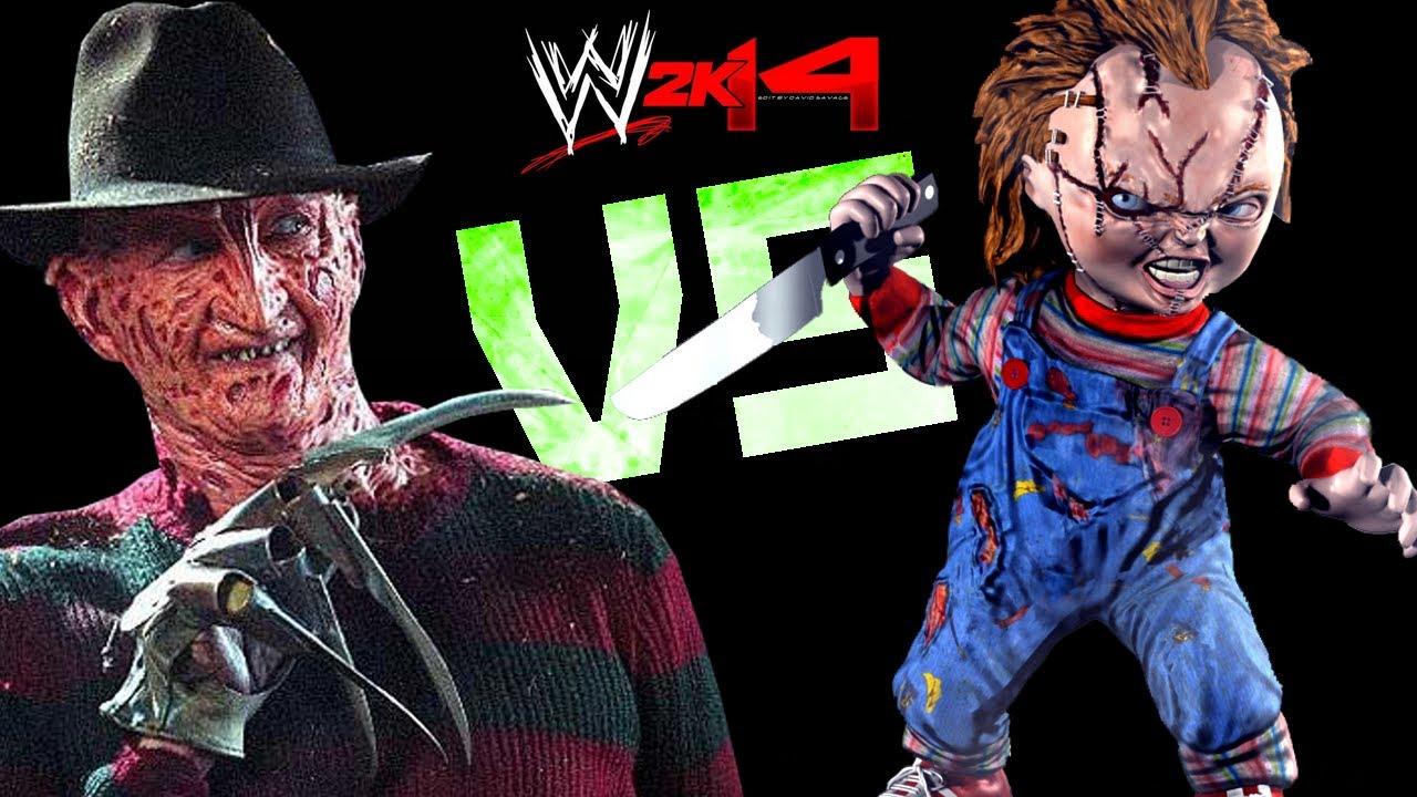 Gamer Girl Wallpaper Wwe 2k14 Chucky Curse Vs Freddy Krueger Fr Hd Youtube