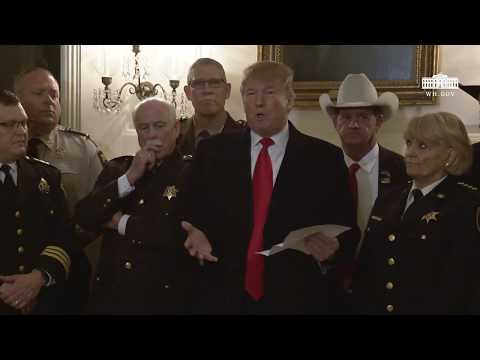 President Trump Meets with Sheriffs from Across the Country Mp3
