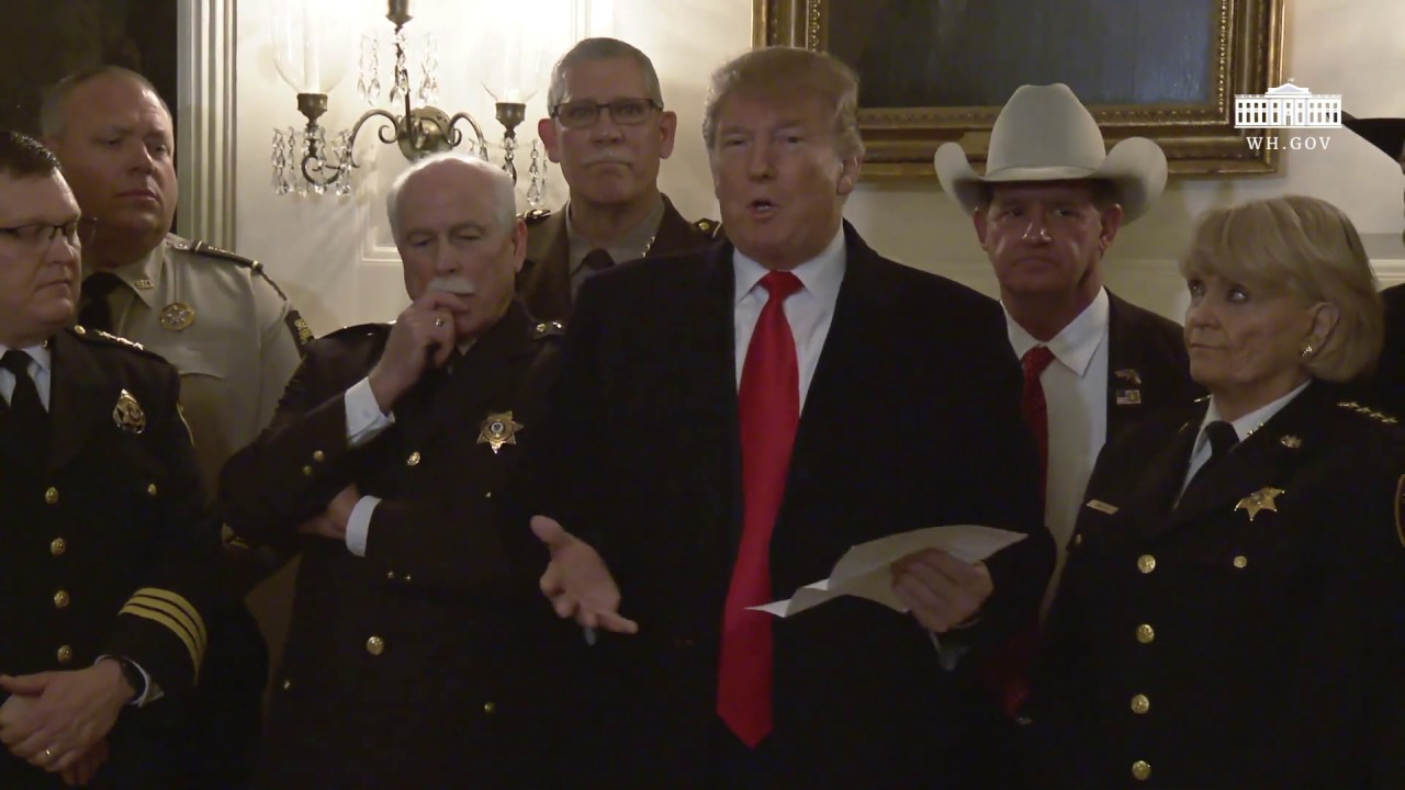 Image result for President Trump Meets with Sheriffs from Across the Country