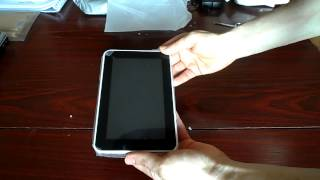 Android Tablet from China Unboxing