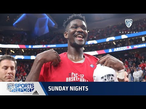 2018 Pac-12 Men's Basketball Tournament: Arizona rides another Deandre Ayton double-double to...