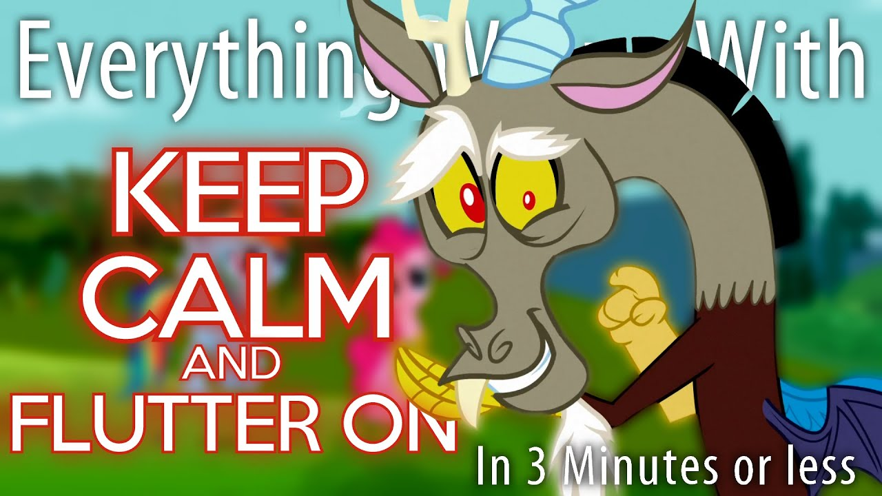 (Parody) Everything Wrong With Keep Calm and Flutter On in 3 Minutes or  Less - YouTube