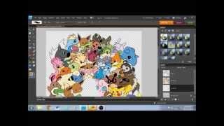 Pokemon Pre-evolution Team Speed Drawing