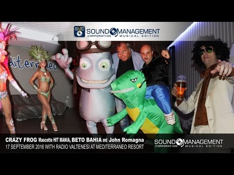Crazy Frog, Beto Bahia & John Romagna Live at Mediterraneo Resort - 17 September 2016