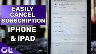 How to Cancel Subscription and App Trials on iPhone or iPad   Guiding Tech