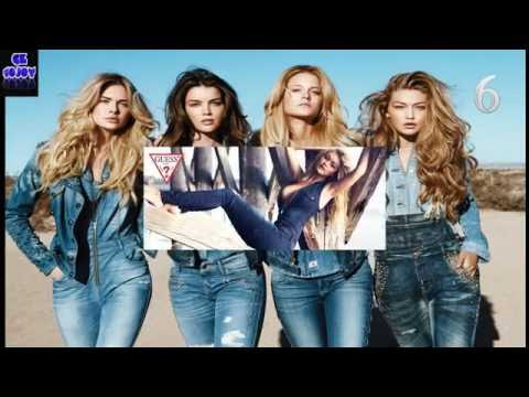 Top10 Best Selling Jeans Brands in the World