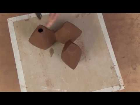 How to Make a Vase that is Like Sculpture for the Table Top   JERILYN VIRDEN