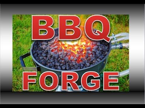 BBQ Forge Build - DIY Professional Blacksmiths Side Blast Forge