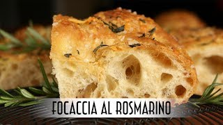 Focaccia al Rosmarino | Poolish Method