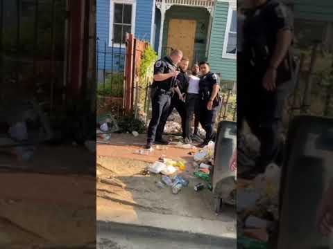 KKKops Assault Black Man During Arrest For Doing Nothing.