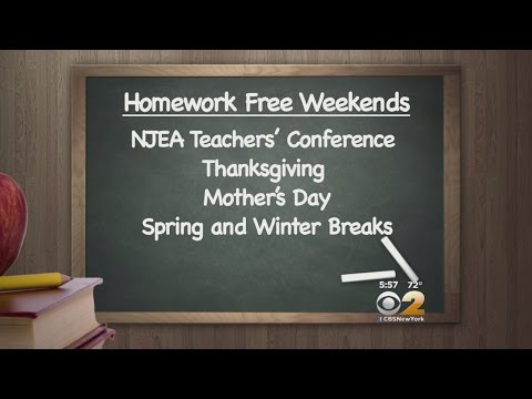 NJ No Homework Weekends
