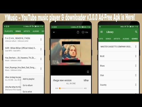YMusic – YouTube music player & downloader v3 0 0 Ad-Free Apk is Here!
