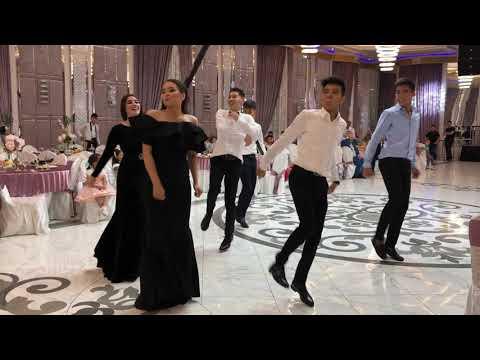Лучший флешмоб на свадьбе 2019. Атырау