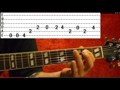 Satisfaction by THE ROLLING STONES - Guitar Lesson - Kieth Richards
