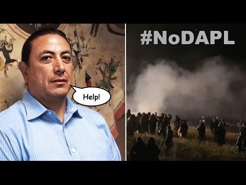 Standing Rock Leader Calls on Obama to Halt #DAPL After Police Brutality Leaves MANY Injured