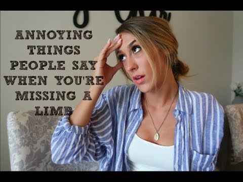 Annoying Things People Say When You're Missing An Arm