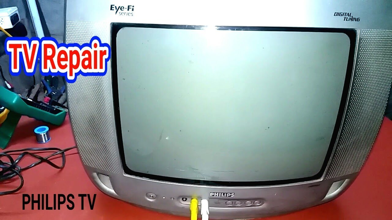 Tv On But No Light No Picture Fault Philips Tv Repair Youtube