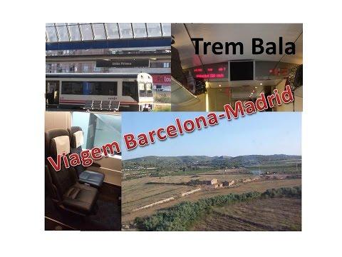 Dicas de Viagem: Trem Bala Barcelona - Madrid