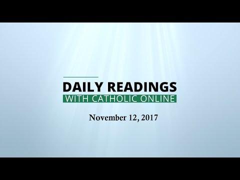Daily Reading for Sunday, November 12th, 2017 HD