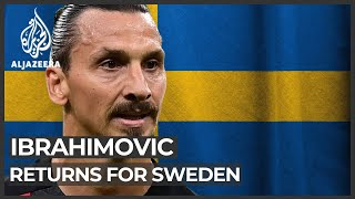 Ibrahimovic marks Sweden return with assist in win over Georgia