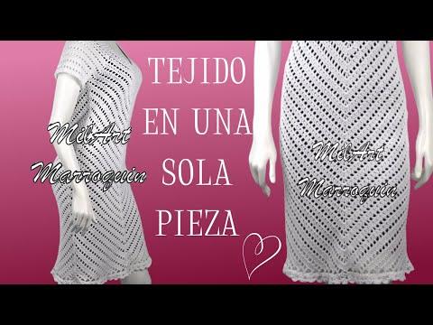 577c05804 Vestidos Tejidos A Crochet Para Mujer Paso A Paso - Sitios online ...