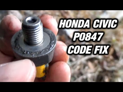 Transmission fluid pressure switch - Honda Civic Forum