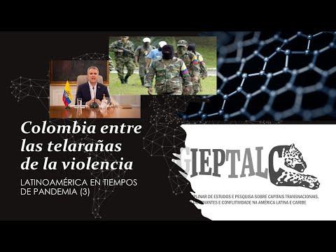 Colômbia: violência e pandemia