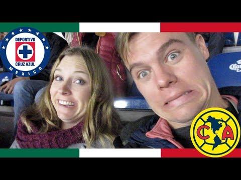 Extranjeros reaccionan a América vs Cruz Azul (Gringos en el Estadio Azteca, pt 3)