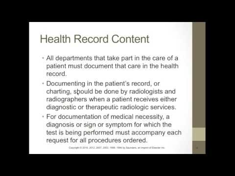 RADT 101 Health Records and Health Information Management